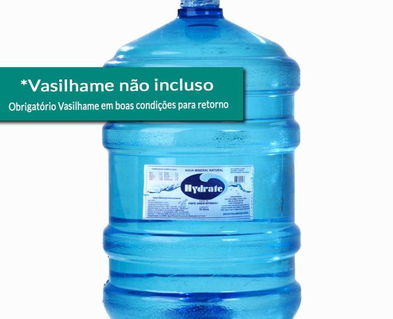 Galão de Água Mineral 20 litros Retornável