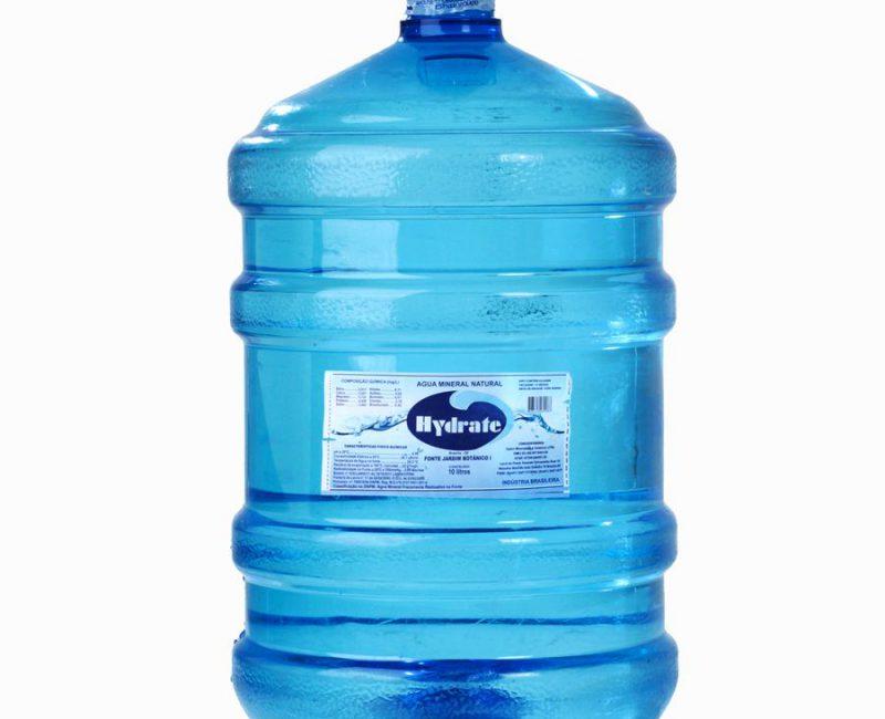 Galão de Água Mineral 20 l. Com Vasilhame