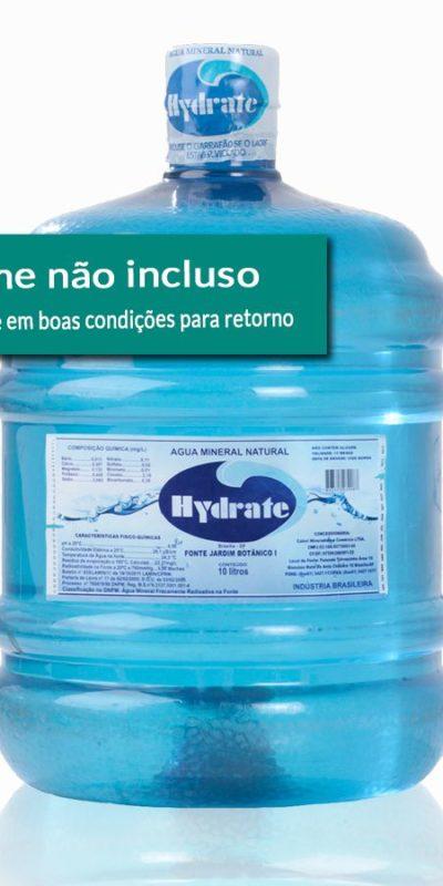 Galão Água Mineral 10 Litros Retornável. Sem vasilhame incluso no preço