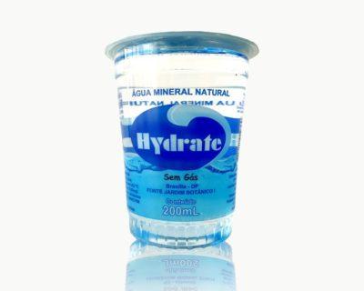 Copo de Água Mineral Hydrate. Pacote com 48 unidades