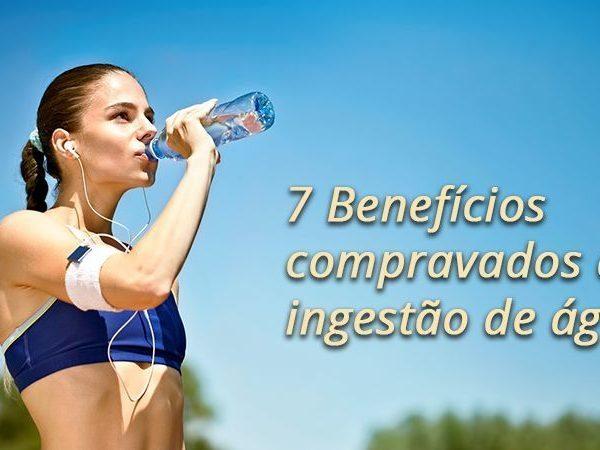 Benefícios cientificamente comprovados da água