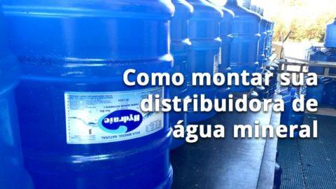 Como Montar Como Montar Distribuidora de água mineral