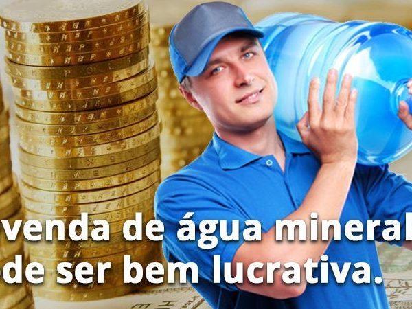 Revenda de Água Mineral com lucro